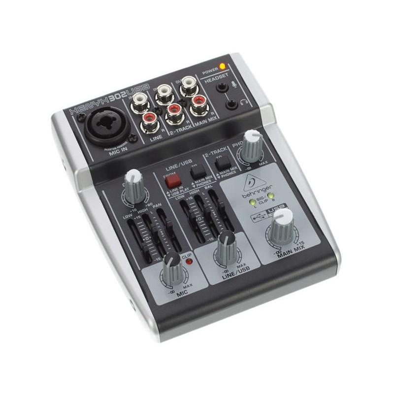 behringer xenyx 302 usb videoplay sistemas. Black Bedroom Furniture Sets. Home Design Ideas