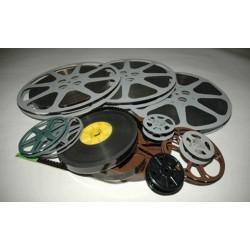 Peliculas de Cine 16mm, 8mm, S-8mm