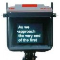 - Teleprompter